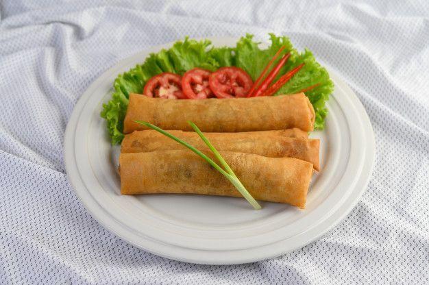 Chinese chicken roll